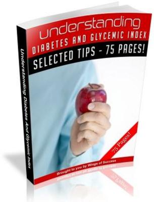 Product picture Understanding Diabetes and Glycemic Index PLR Ebook download