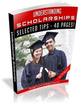 Product picture Understanding Scholarships Free PLR Ebook download