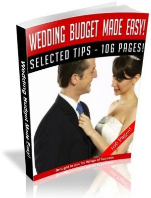 Product picture Wedding Etiquette Made Easy Free PLR ebook download