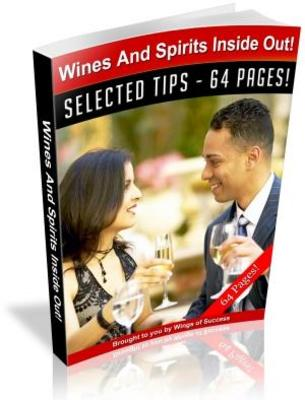 Product picture Wines and Spirits Inside Out Free PLR ebook download